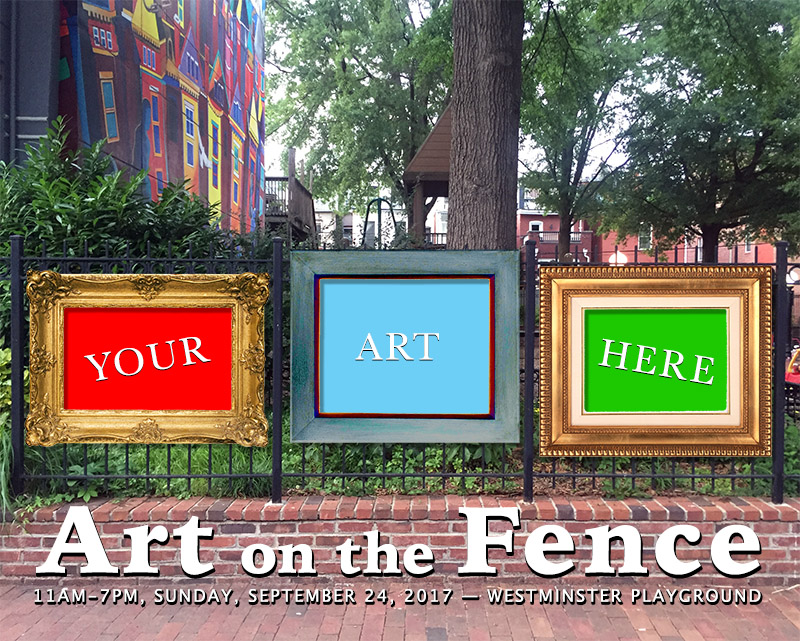 Join us for Art on the Fence - September 24, 2017